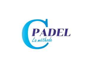 logo C Padel bleuciel