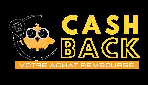 logo CASH BACK achat remboursé