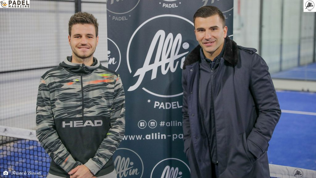 lopes bergeron all-in padel
