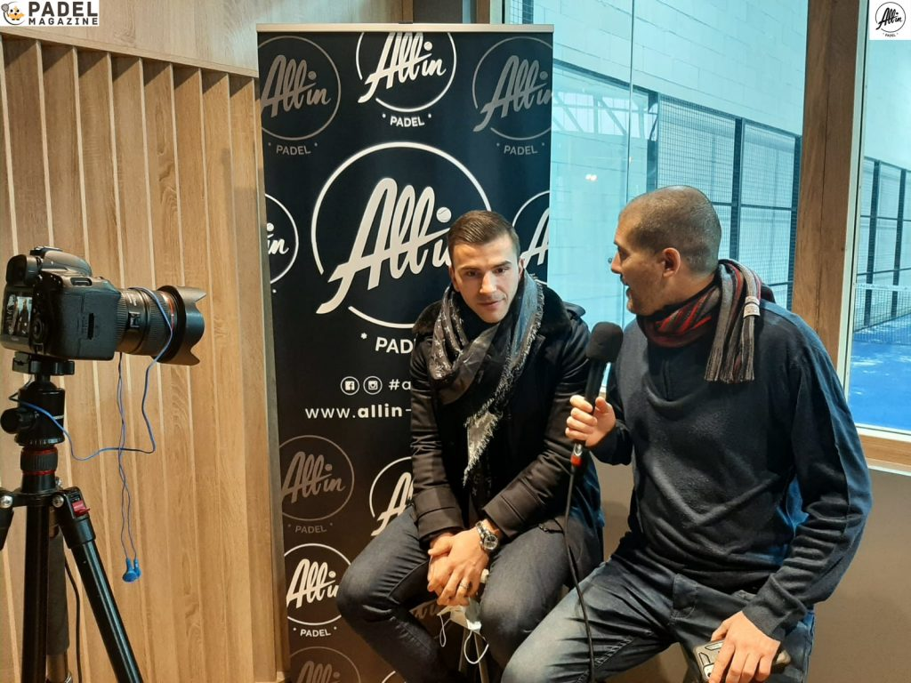 binisti lopes all in padel Interview