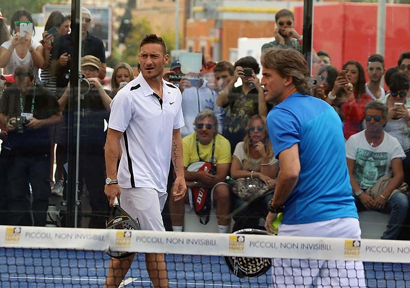 "Francesco Totti: ""The strongest in padel is …"""