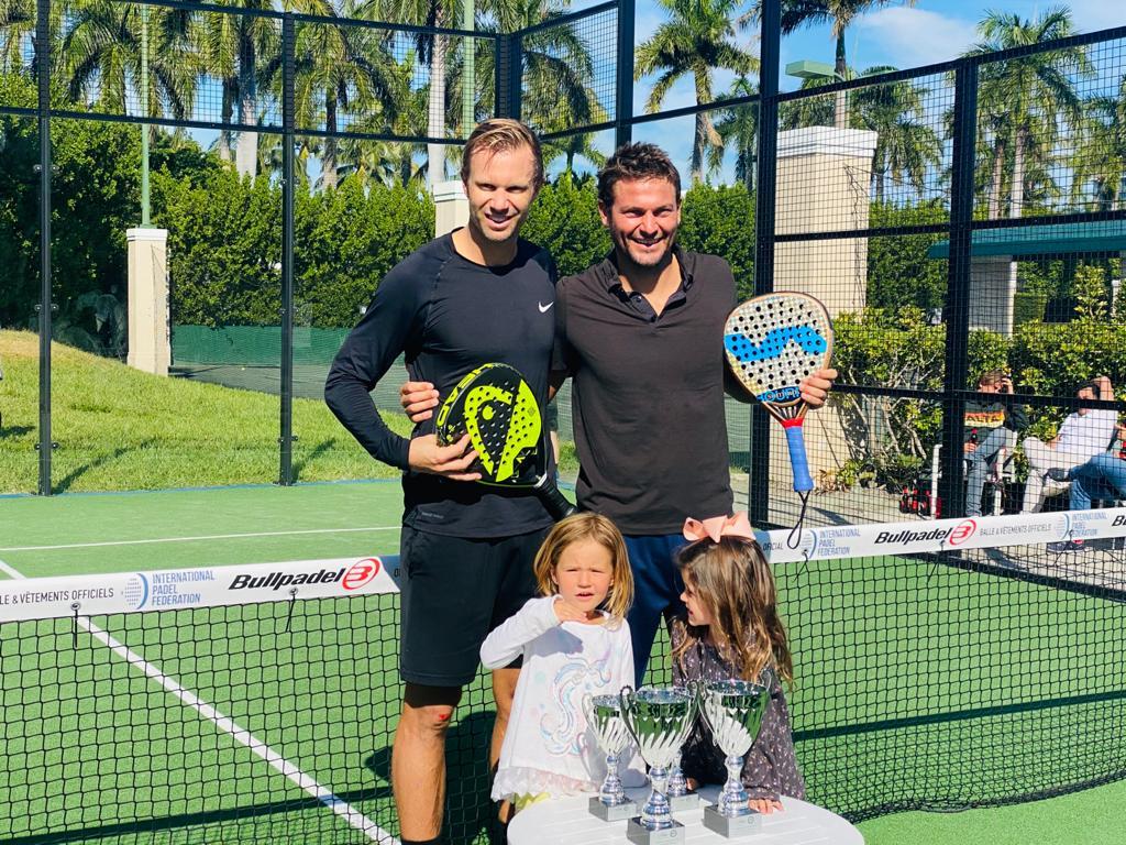Grinda / Scatena: prestigieuze overwinning op de Open Miami Bullpadel Cup 2020