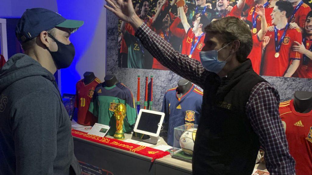 nerone musée du sport espagne coupe du monde