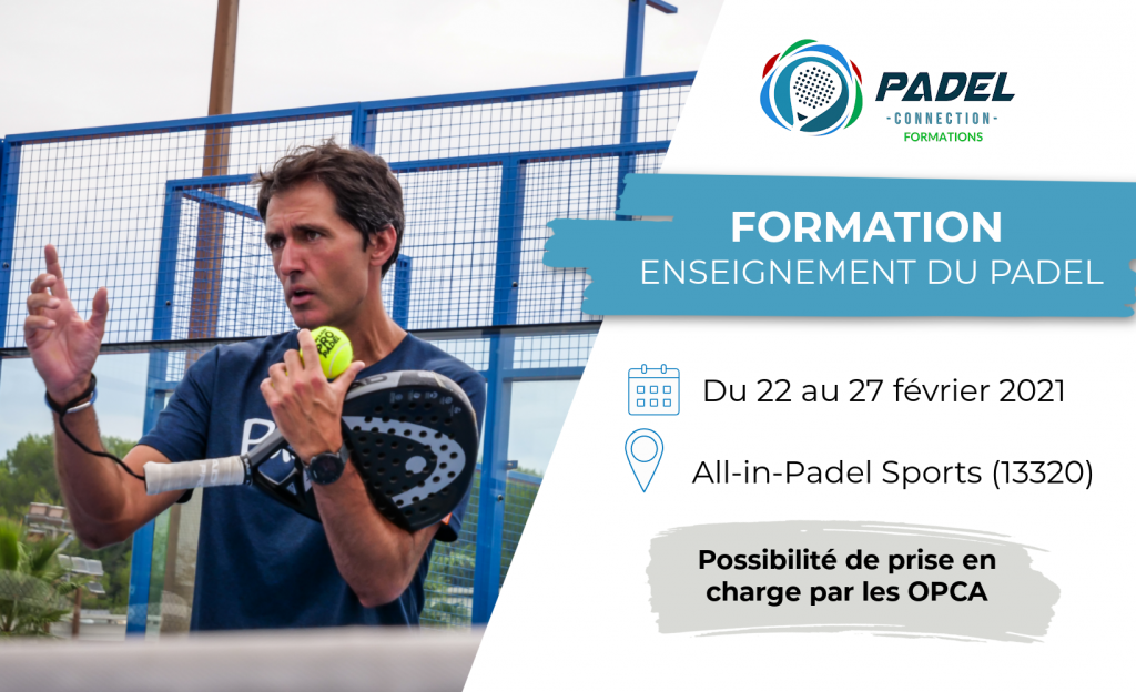 padel formation padel connection
