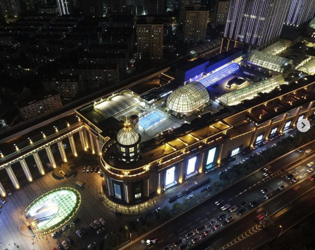 padel shangai china roof mall
