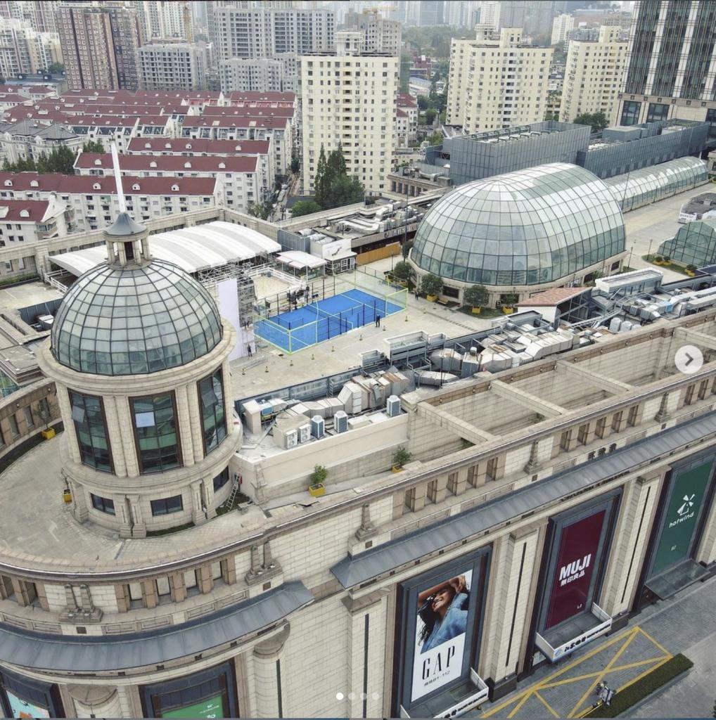 shangai padel China Roof Mall