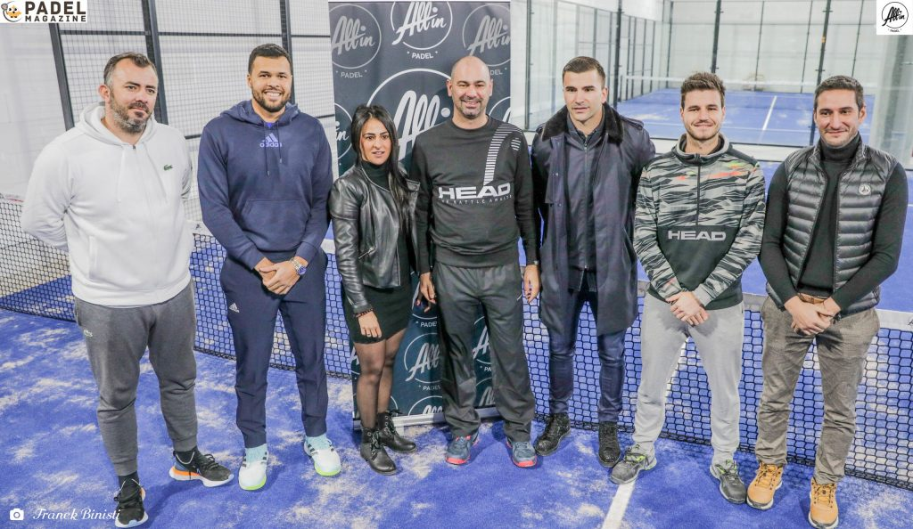 team all in padel