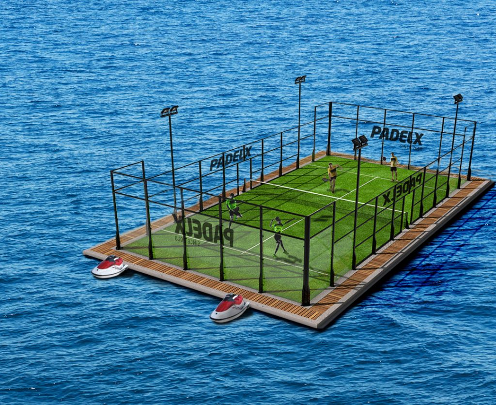 land of padel floating