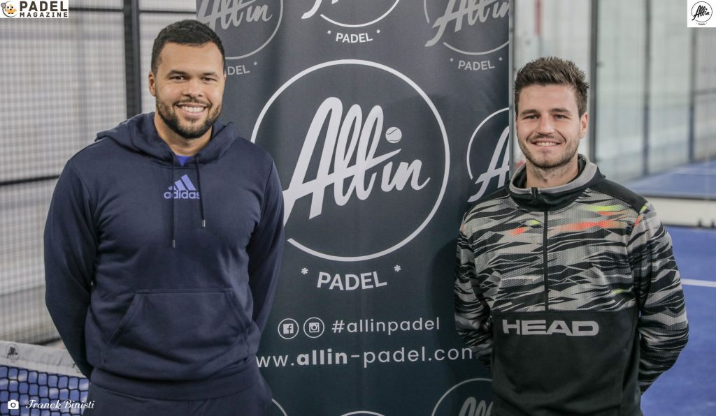 tsonga berson all in padel