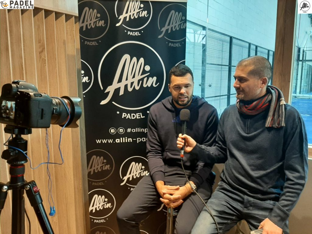 Tsonga Interview binisti all in padel