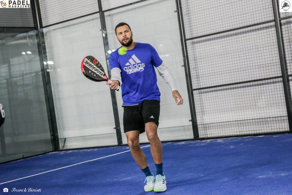 volée tsonga padel all in