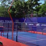 APT Padel Tour Quinta Sports Club - Paraguay 2021 cancha central