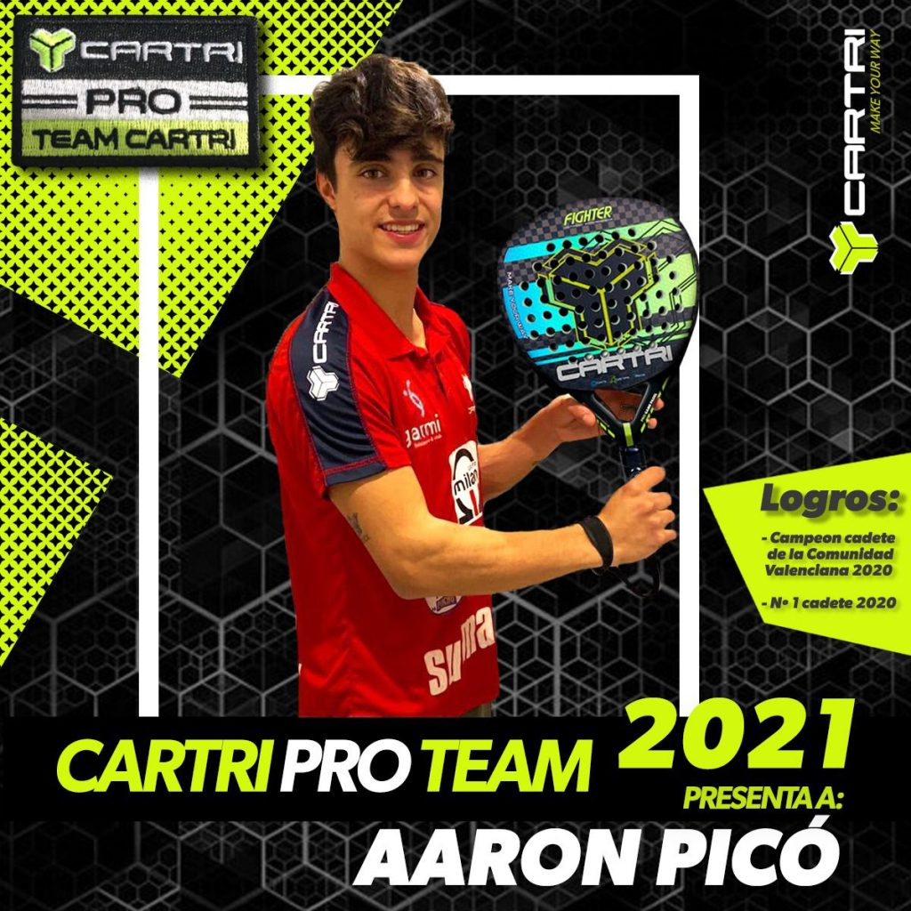 Aaron Pico Cartri Pro Team 2021