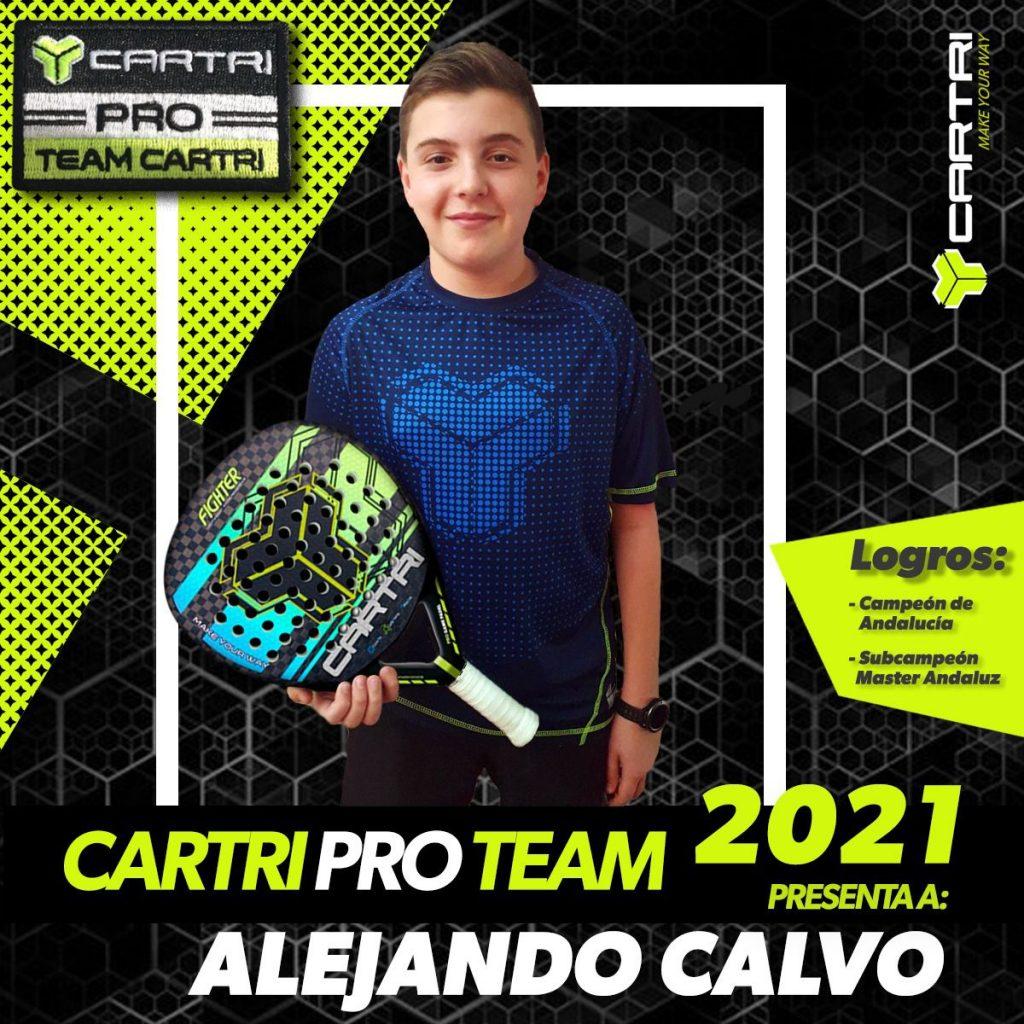 Alejandro Calvo Cartri Pro Team 2021