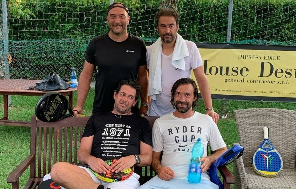 Andrea Pirlo nouveau fan de padel !