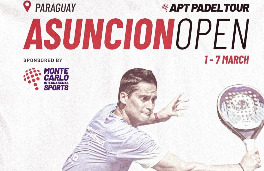 APT Padel Tour Asuncion Open : streaming dès les 1/16e !
