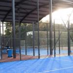 Belgique padel terrains remplacent court de tennis