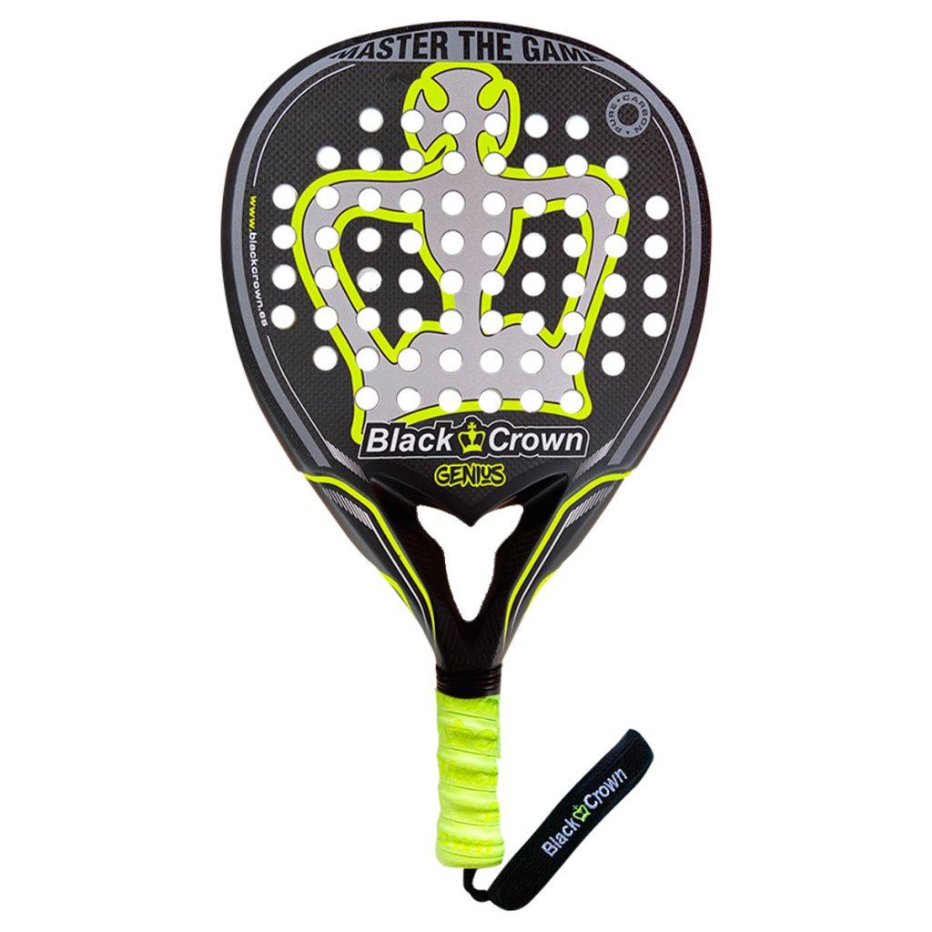 Black crown racket genius