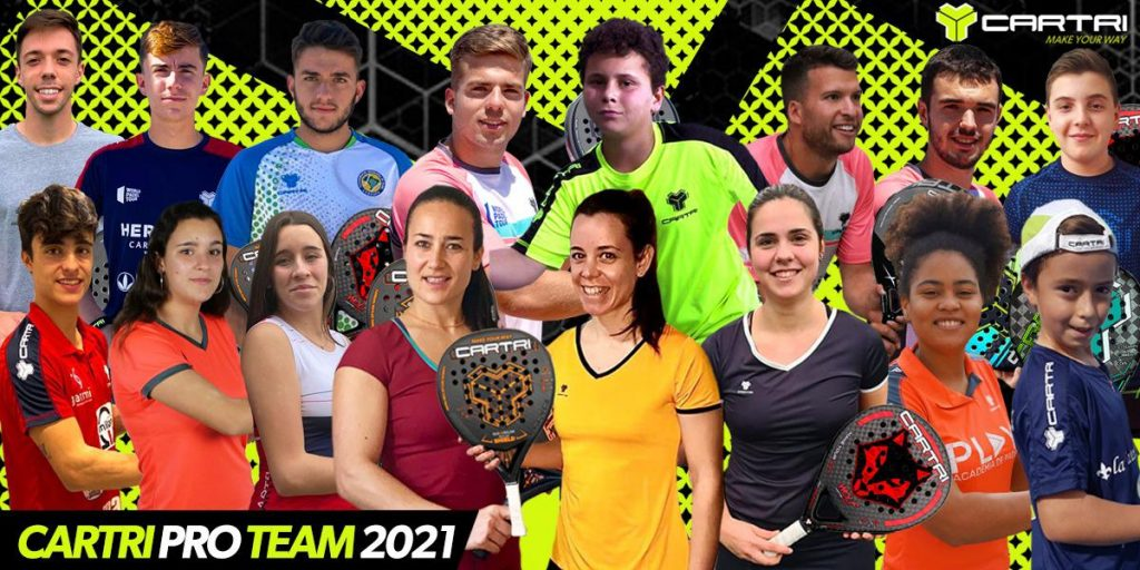 The Cartri Pro Team 2021 ready to do battle!