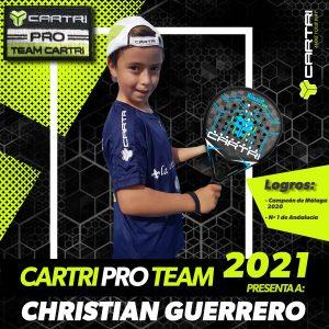 Christian Guerrero Cartri Pro Team 2021