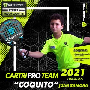 Coquito Juan Zamora Cartri Pro Team 2021