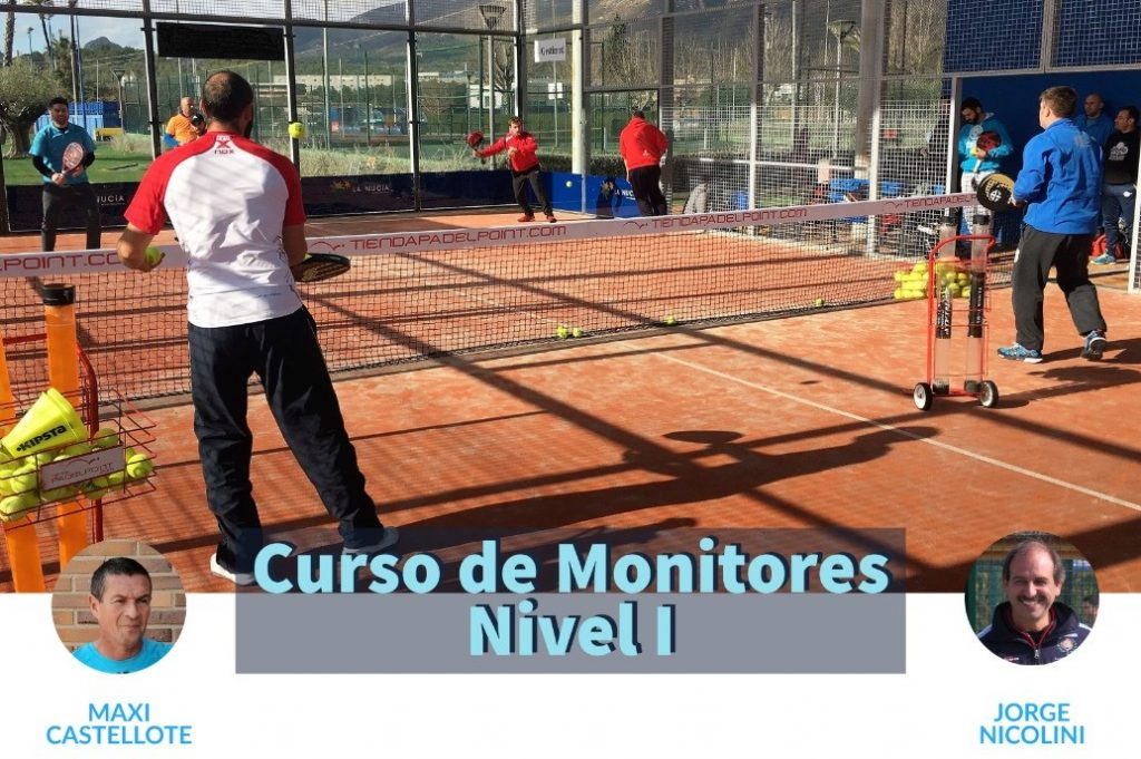 Curso de monitores level 1 padelphoto point