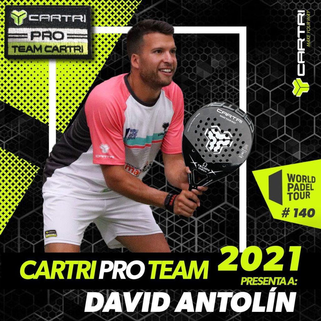 David Antolin Cartri Pro Team 2021