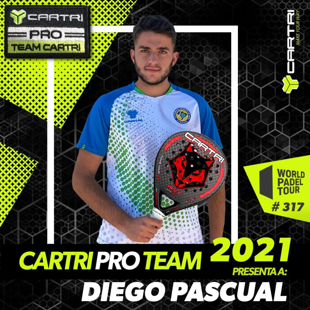 Diego Pascual Cartri Pro Team 2021