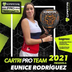 Eunice Rodriguez Cartri Pro Team 2021
