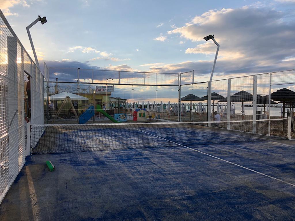 Italie : du padel pour remplacer des terrains de foot !