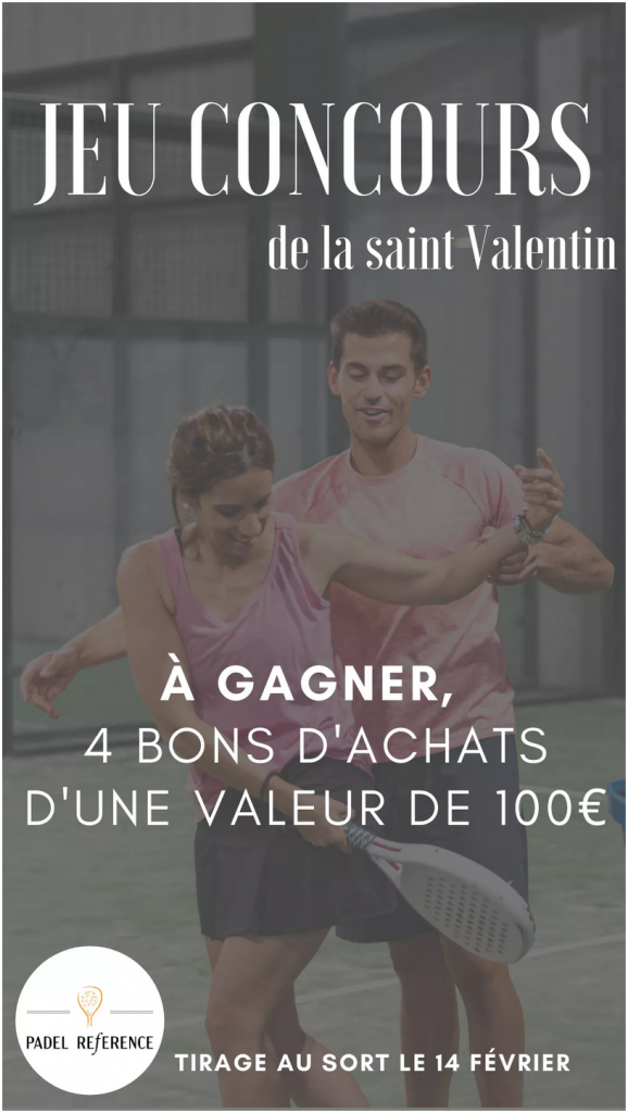 Jeux concours padel reference