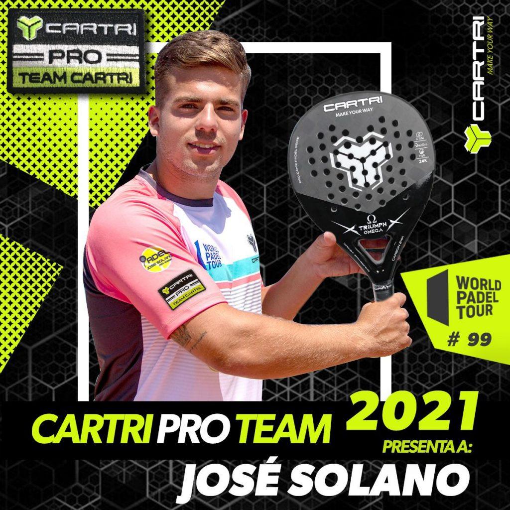 José Solano Cartri Pro Team 2021
