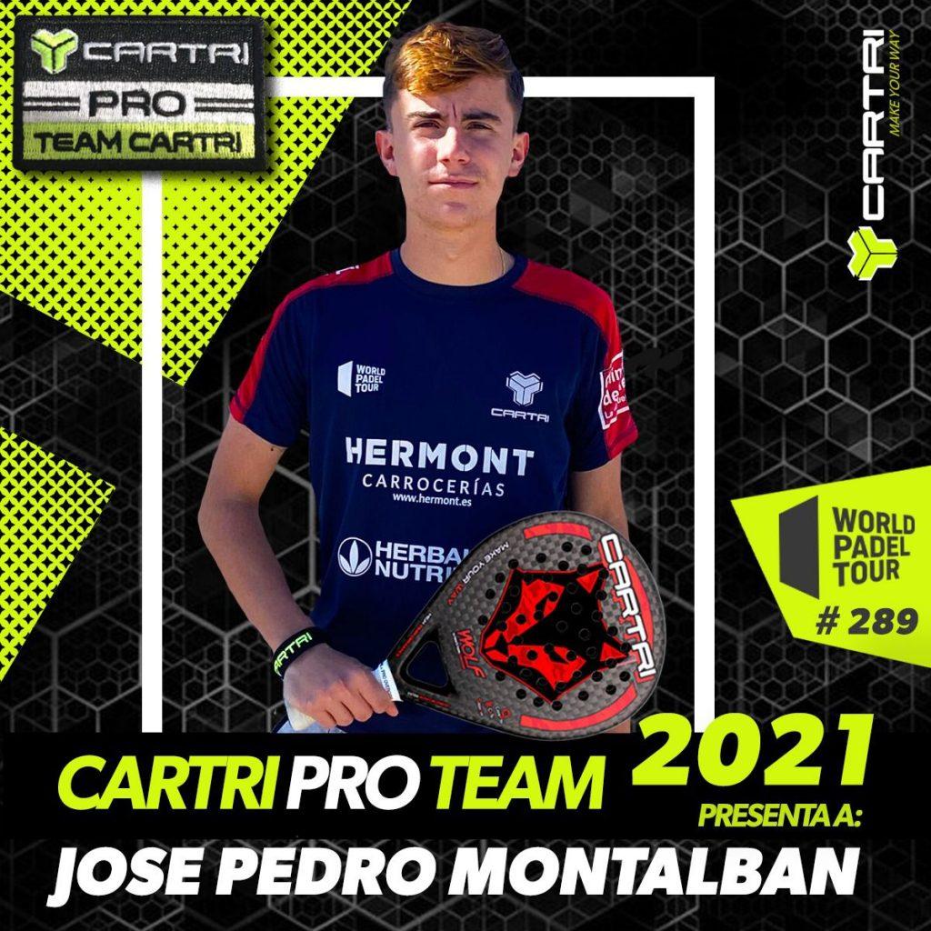 José Pedro Montalbán Cartri Pro Team 2021