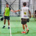 Jose Pedro Montalban et Diego Pascual Simon main
