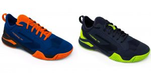 Kuikma chaussures PS990 Dynamic bleu noir jaune bleu outremer orange