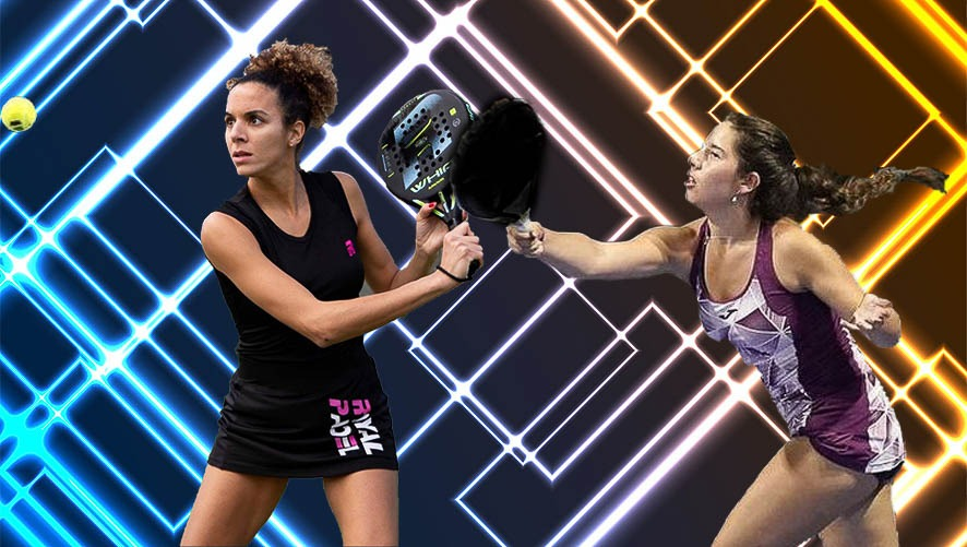 Mélissa Martin with Martina Fassio in 2021 on the WPT