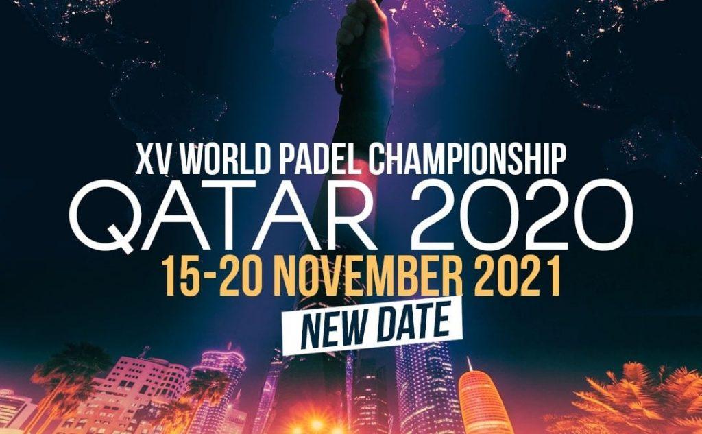Mondiaux Qatar 2020 novembre 2021 padel FIP