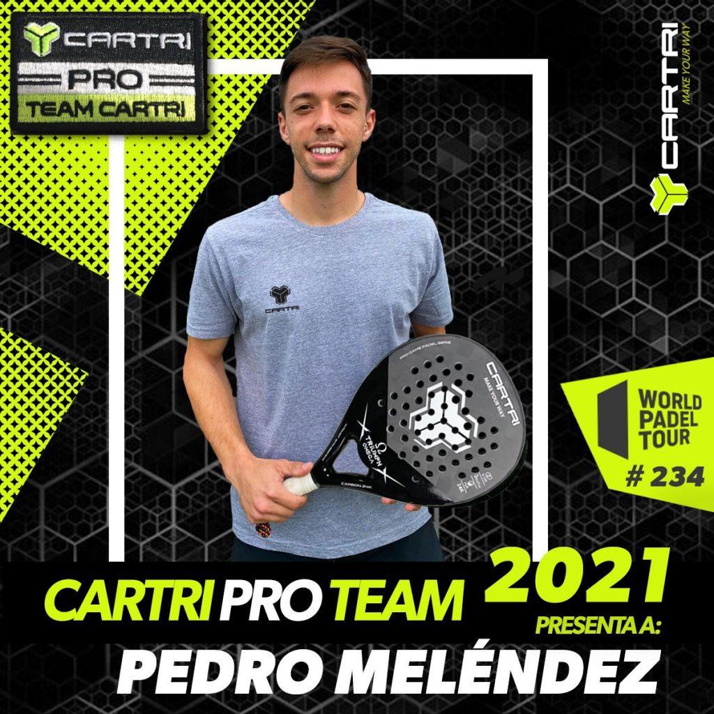 Pedro Meléndez Cartri Pro Team 2021
