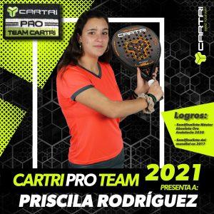 Priscila Rodriguez cartri pro team 2021