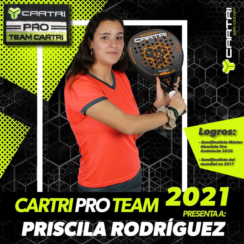 Priscila Rodríguez cartri pro team 2021