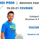 Réunion Padel Club tournois P500