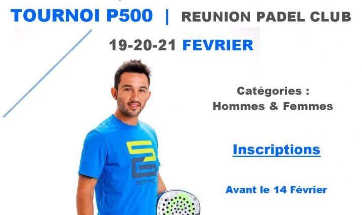 Réunion Padel Club : Un P500 attendu !