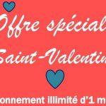 Saint Valentin réunion padel club offre illimité