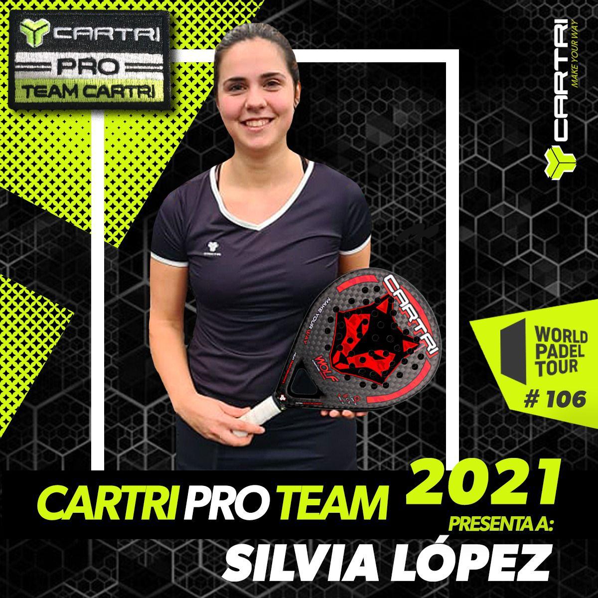 Silvia Lopez Cartri Pro Team 2021