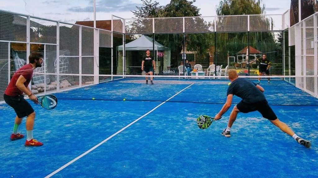 Terrain Outdoor Padel Smashing Club Nivellois