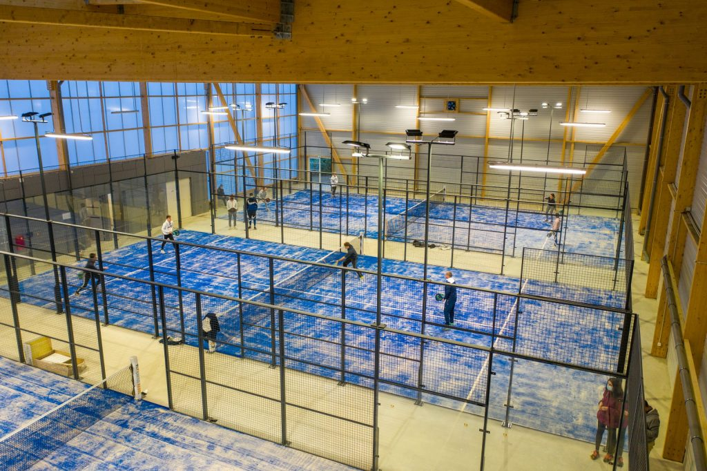 Loire Vallée Padel club house