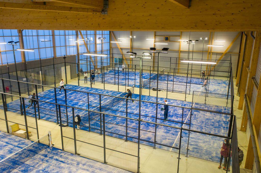 Terrain indoor FFT Loire Vallée Padel