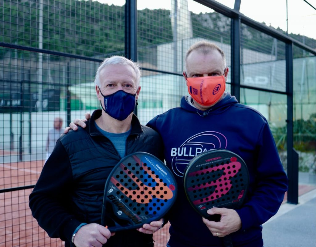 didier dechamps christian collange padel