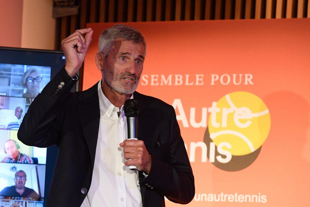 Gilles Moretton een paar uur na de bevrijding