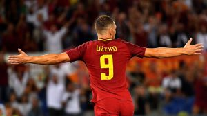 gol dzeko roma football